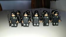 100 Figures!  Custom SWAT Mini Figures Set. Amazing Detail & Quality