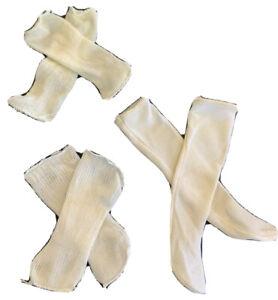 Vtg. Doll Socks 3 Pr  For Porcelain Doll used
