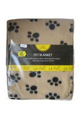 Couvertures beige pour chien