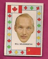 RARE 1972-73 OPC TEAM CANADA BILL GOLDSWORTHY CANADA CUP VG CARD (INV#2262)
