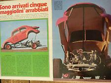 ARTICOLO VW MAGGIOLINO DRAGSTER - 1976
