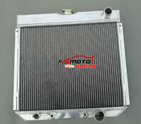 3 ROW for 1963-1969 Ford Fairlane 1967-1969 Ford Mustang Aluminum Radiator AT