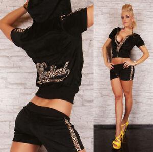 Women's 2 Piece Tracksuit Summer Style Gym Suit With Hood Capri Tracksuit Velvet