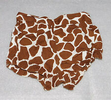 Crazy 8 Infant Baby Girls Brown Spotted Diaper Cover Bloomers Size 6-12 Months
