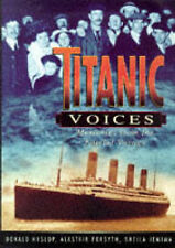 Titanic Voices, Hislop, D., Very Good Book