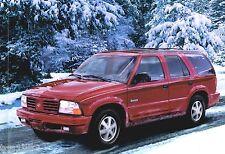 2000 OLDSMOBILE BRAVADA SUV Brochure / Catalog / Prospekt w/ COLOR CHART: 35 pgs
