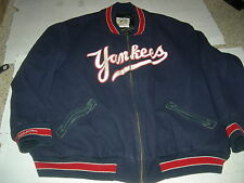 New York Yankees  COOPERSTOWN COLLECTION 1951 sz60 Wool Replica Dugout Jacket