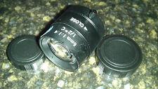 "6mm C mount lens cmount optical glass 1/2"" sensor High Quality Manual Iris CCTV"