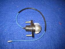 NEW  MG MGB MIDGET CHROME NUMBER PLATE LAMP / LIGHT  BHA4283  MAP LIGHT  xy