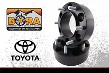 "Toyota Tacoma 0.75"" Wheel Spacers (2) by BORA Off Road - Made in the USA"