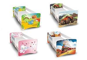Best For Kids Kinderbett Bett mit Rausfallschutz 90x200 90x180 80x160 Designs