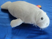 """Manatee Puppet # Fg7156 ~ Unique ~ 12"""" ~ Free Shipping/Usa ~ Sunny Puppets"""
