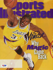 Magic Johnson SIGNED Sports Illustrated NL ITP Lakers PSA/DNA AUTOGRAPHED