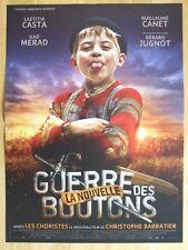 AFFICHE - LA NOUVELLE GUERRE DES BOUTONS LAETITIA CASTA CHRISTOPHE BARRATIER