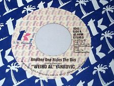 Weird Al Yankovic: Another One Rides the Bus / Gotta Boogie  [Unplayed Copy]