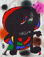 Joan Miro - Litografia original III - Mourlot 1115