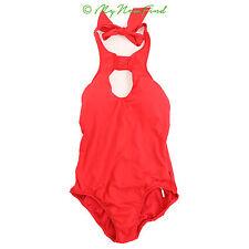 SEA FOLLY GODDESS KEYHOLE MALLIOT RED ONE PIECE SWIMSUIT SIZE 14 B72