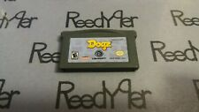 Dogz Nintendo GameBoy Advance game GBA SP Micro DS Lite boy Dogs Ubisoft cart