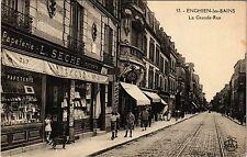CPA  Enghien-les-Bains - La Grande Rue  (290209)