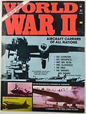 World War II Magazine Oct 1974 Aircraft Carriers of All Nations Aviation