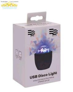 Byte USB Disco Party 3W Sound Sensitive Multi Colour Light RRP £14.99