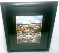 Jane Wooster Scott Indian Summer In Nantucket Painting Framed Print 16.5 x 20