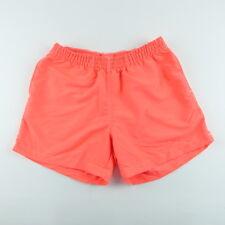 c655090730 Chubbies Size L Swim Shorts Trunks Mens Mesh Lined Pockets Beach Vacation  Orange