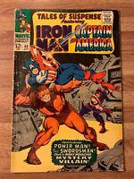 Tales of Suspense #88 (Marvel 1966) Iron Man~Captain America~PowerMan~Silver Age