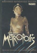 METROPOLIS NEW DVD