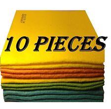 10 LARGE Shammie Shammy Towels 15 x 15 each NEW Shammy from Germany