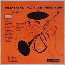 GRANZ: Jazz at Philharmonic DSM Verve LESTER YOUNG Jazz DAVID STONE MARTIN LP