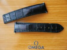 OMEGA MEN'S Speedmaseter Moonwatch 20mm Alligator Strap No 98000245S