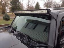 "For 06-10 Hummer H3 Over Windshield Straight/Curved 52"" LED Light Bar Mount Kits"