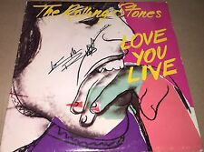 Keith Richards The Rolling Stones Hand Signed Love You Live Album w/COA