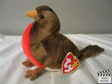 Early, Robin Beanie Babies; Ty NEW, Retired Brown Red Breast Bird Mint