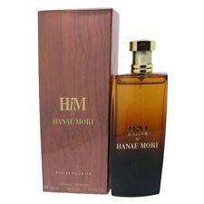Him By Hanae Mori 3.3 / 3.4 Oz EDT Spray New In Box Sealed Cologne For Men
