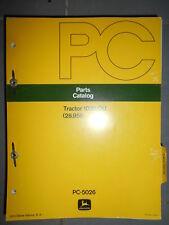 John Deere tracteur 1020 OU : catalogue de pièces 1974
