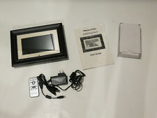 "Pandigital 7"" LCD Digital Photo Frame with Remote PAN7001W01 Complete"