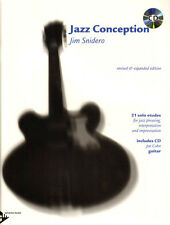 Jim Snidero Jazz Conception Gitarre Guitar Noten mit Play-Along CD