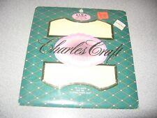 "New ListingCharles Craft Cross Stitch Fabric 14 Count Nip Cr-5444 Yellow 12"" X 18"""