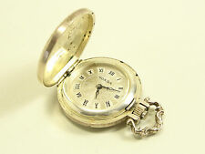 Monda kaha Orologio da Tasca Argento 835 mano ascensore pocket watch Montre de poche