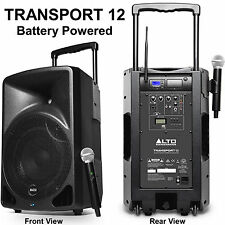 ALTO PROFESSIONAL TRANSPORT12 Wireless Lithium-ion Battery Powered 400w PA