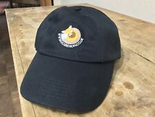 'Beechfield' Baseball Cap (colour; black) with embroidered Hounds Off Logo
