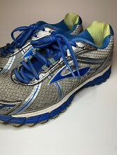 Brooks Adrenaline GTS 15 Running Shoes Silver 1201741B179 Womens Sz 8 MEDIUM B