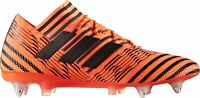 adidas Nemeziz 17.1 Mens Football Boots Orange Soft Ground Soccer UK Sizes 6-9