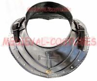 Medieval Iron Gorget Roman Greek Knight Gothic Steel Plate Armor Larp Cosplay