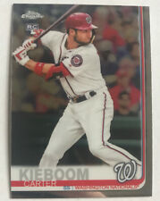 2019 Topps Chrome Update Carter Kieboom RC Rookie Card Washington Nationals #22