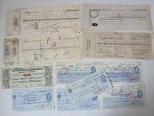 Billets d'escompte + papiers banques (11) (21712)
