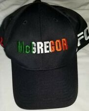 UFC Reebok MMA Conor Mcgregor black hat sx L/XL