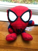 """Marvel Ultimate Spider-Man 8"""" Stuffed Plush Toy Brand New Licensed with Tags"""